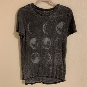 Moon Phases Graphic T